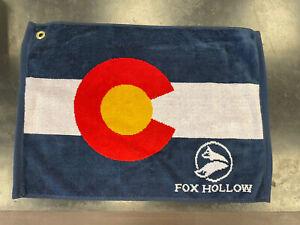 Colorado Sport Towels Fox Hollow Golf BNWT