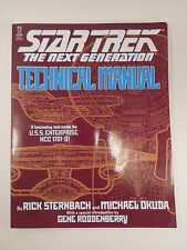 Star Trek the Next Generation Technical Manual Paperback Book 9780671704278