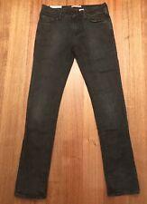 RIVER ISLAND Women's Straight Leg / Skinny Jeans Charcoal Size W30 L32