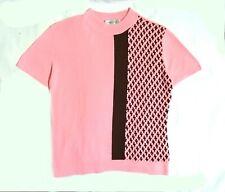 Michel Rene pink knit top