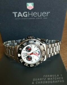 TAG HEUER FORMULA 1 CAC1111-0 Chronograph Date 200M Mens Watch 41mm