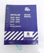 New Holland 5640 6640 7740 7840 8240 8340 Tractor Service Manual Part 9 ONLY