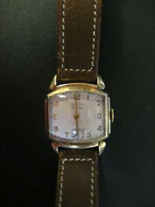 Elgin De Luxe 10K Gold Filled Mechanical Watch