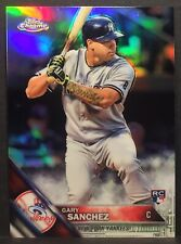 2016 TOPPS CHROME GARY SANCHEZ #143 RC REFRACTOR NY YANKEES MT-MINT🔥⚾️