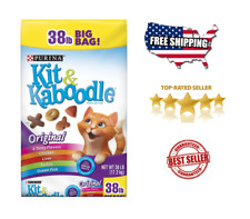 New listing Purina Kit & Kaboodle Original Adult Dry For Pet Cat Food (38 lb.)