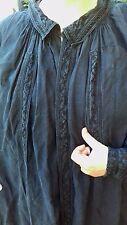Exceptionnelle biaude Auvergnate de maquignon , veste paysan brodée , 19 ème