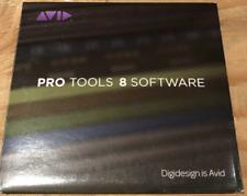 Digidesign Pro Tools 8.0 Le DVDs w Pro Tools 8.0.4 - 8.0.5 update Mac & Windows