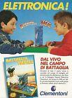 X2879 Clementoni - Battaglia navale elettronica - Pubblicità 1994 - Advertising