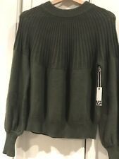 NWT NSF Elise Sweater Small Hunter