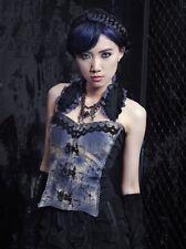 rq-bl gothic corset top medium