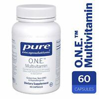Pure Encapsulations - O.N.E. (ONE) Multivitamin 60 Capsules (ONEMultivitamin)