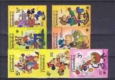 Serie Disney postfris MNH Dominica: Mickey Minnie Goofy Donald (dis001)