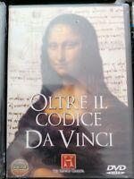 DVD Film  Documentario ARTE History Channel OLTRE IL CODICE DA VINCI - LEONARDO