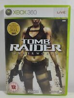 Tomb Raider: Underworld Xbox 360 Game Near Mint Complete PAL UK Fast Free P&P