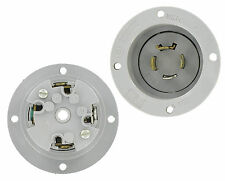 Pass & Seymour NEMA L14-20 20 Amp 125/250V 3 Pole 4 Wire Grounding Flanged Inlet