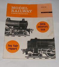MODEL RAILWAY CONSTRUCTOR MARCH 1964 - BRANCH LINE TO HENTON