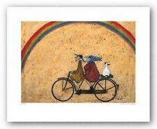 DOG ART PRINT Somewhere Under A Rainbow Sam Toft