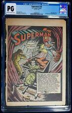 Superman  #18 Single page, CGC PG  26th page Lois Lane Bondage Oct. 1942