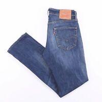 Vintage LEVI'S 511 Slim Straight Fit Men's Blue Jeans W30 L31
