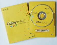 Microsoft Office MAC 2011 Home and Student - 3 Macs - Retail/Box mit DVD -