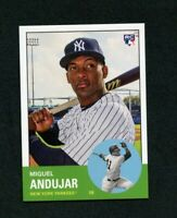 2018 Topps Throwback Thursday TBT Set 37 #224 Miguel Andujar RC New York Yankees