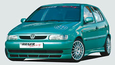 Rieger front spoiler labbro VW POLO 6n