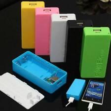 5600mAh 2X 18650 USB Power Bank Ladegerät Fall DIY Box Telefon aufladen