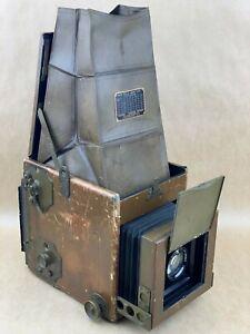 Graflex RB 4x5 Signal Corps US ARMY G-4 No.8 Tropical Military Camera -Very RARE