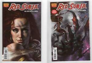 Red Sonja She Devil with a Sword #79 & #80 NM Lucio Parrillo Covers Dynamite