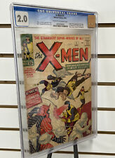 X-men 1 Graded CGC 2.0 1st X-Men And Magneto Silver Age Marvel Comics KEY 🔑
