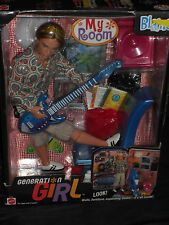2000 KEN MY ROOM BLAINE GIFT SET,  BARBIE GENERATION GIRL COLLECTION!!