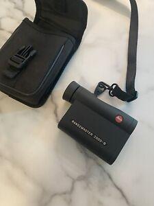 leica Rangemaster laser Rangefinder CRF 2000-B sig leupold