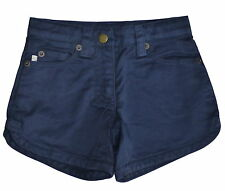 Marie Chantal FiFi Navy Denim Cotton Shorts  Age 4 NWT