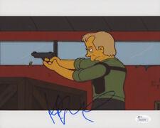 "Kiefer Sutherland Signed ""The Simpsons"" 8x10 Photo (JSA COA)"
