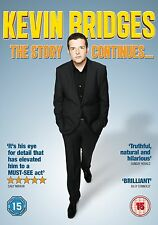 Kevin Bridges The Story Continues DVD Stand-Up Comedy UK Release New Sealed R2