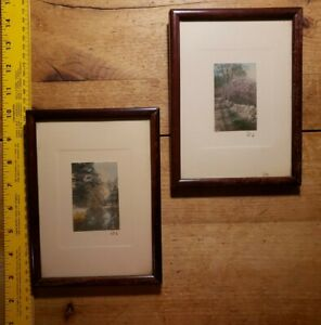 "2 WALLACE NUTTING PICTURES-7.5""X5.5""-BEAUTIFUL NATURE SCENES"