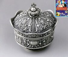 Tin Alloy Crown Design Music Box ♫  Once Upon a December ♫
