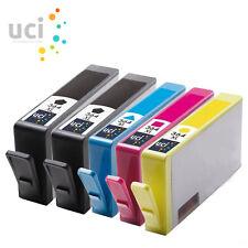 5 Cartuchos de Tinta 364XL Para HP B110d 5524 3520 6510 3070 A C6380 NONOEM