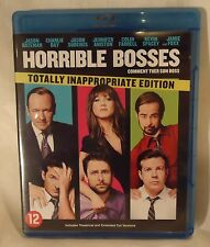 Blu-Ray Bluray DVD HORRIBLE BOSSES - Inappropriate Edition !! Extended Cut Vers.