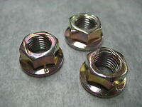 10mm Exhaust Manifold Flange Lock Nuts for Honda - Pack of 3 - Ships Fast!