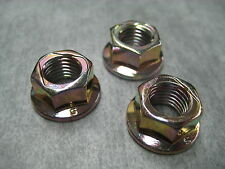 10mm Exhaust Manifold Flange Lock Nuts M10x1.25 - Pack of 3 - Ships Fast!