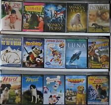 Wholesale Lot of 15 New Kid Children DVD Animals Leave It To Beaver Luna Tarzan
