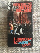 New Kids on the Block - Hangin Tough Live (VHS, 1989)