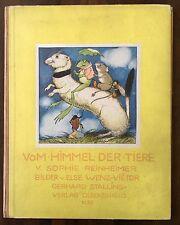Wenz-Vietor. - Reinheimer, Sophie. Vom Himmel der Tiere. Stalling, EA 1930