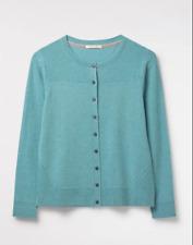 White Stuff Urban button cardigan Size 18 blue rrp £45