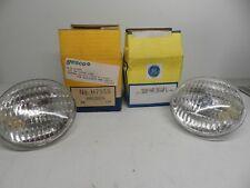 GE 50PAR36WFL 50 Watt & H7555 12V 8 Watt Sealed Beam Lamps