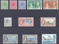 Bahamas British Colony - Bahamas Colonia Britannica - Lot of 11