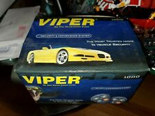 Viper 1000 Alarm System Brain And Harness and wires No Remotes