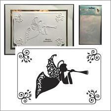 Christmas FRAMED ANGEL EF227 Kaisercraft Cuttlebug Compatible embossing folders