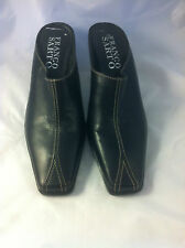 Franco Sarto Black Leather Mule 6.5M - New w/out box
